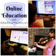 Online Education with SchoolhouseTeachers.com {a review}