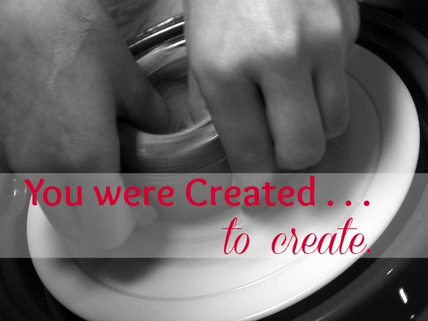 Created to Create Made in the Image of the Creator at ApronStringsOtherThings.com