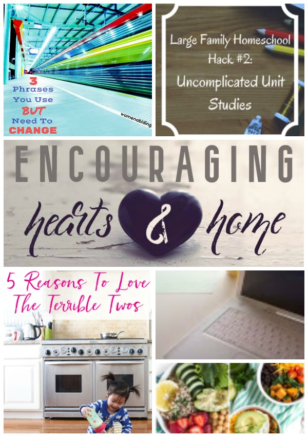Encouraging Hearts & Home blog hop 2.16.17 at ApronStringsOtherThings.com