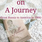 Bessie's Pillow: A Young Immigrant's Journey {A Book Review}