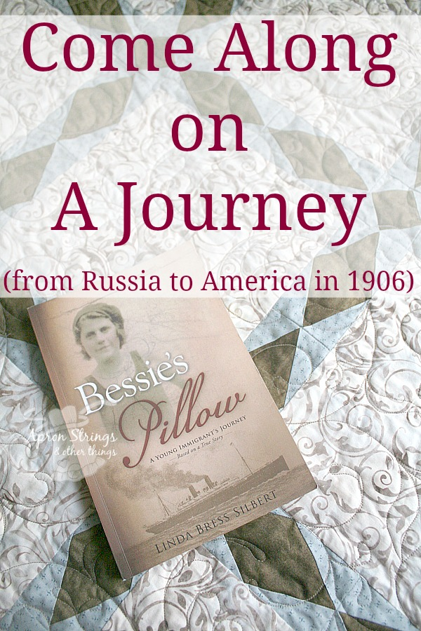 Book Review Bessie's Pillow A Young Immigrant's Journey at ApronSTringsOtherThings.com
