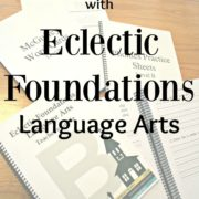 Old Fashioned Language Arts with Eclectic Foundations {A Review}