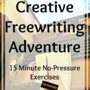 Creative Freewriting Adventure {A Review}