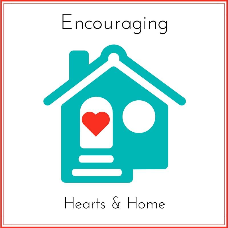 Encouraging Hearts & Home blog hop every Thursday at ApronStringsOtherThings.com