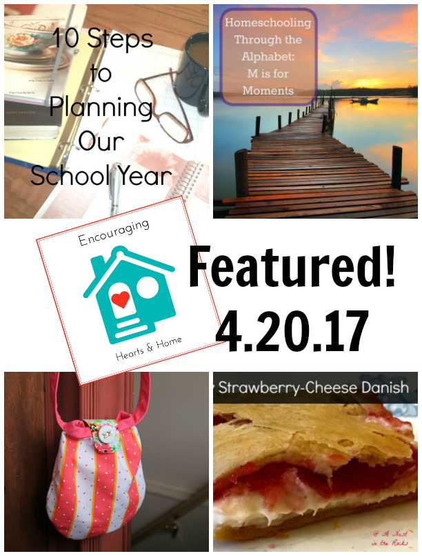 Encouraging Hearts & Home Blog Hop 4.20.17 Featured at ApronStringsOtherThings.com