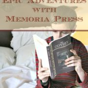 Homer's Epic Adventures with Memoria Press {A Review}