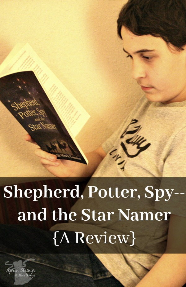 Shepherd, Potter, Spy--and the Star Namer {A Review} at ApronStringsOtherThings.com pin