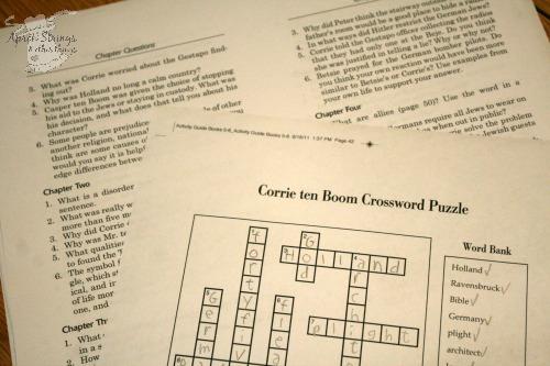 Corrie ten Boom bonus materials YWAM Publishing at ApronStringsOtherThings.com