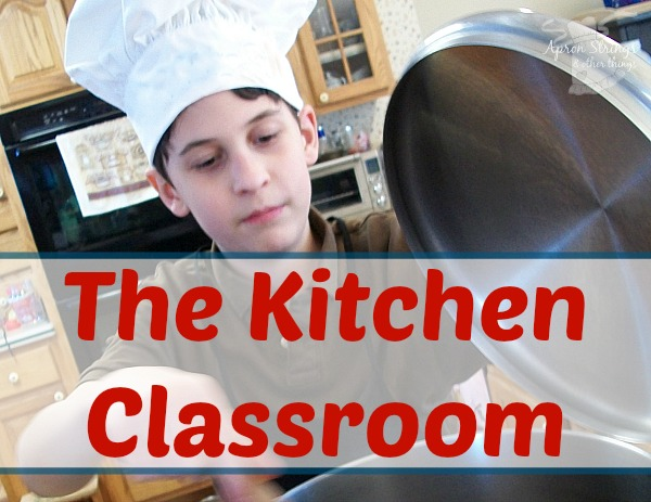 The Kitchen Classroom Education at Home at ApronStringsOtherThings.com