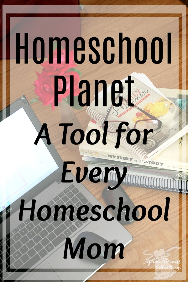 Homeschool Planet A Tool for Every Homeschool Mom Homeschool Buyers Co-Op at ApronStringsOtherThings.com