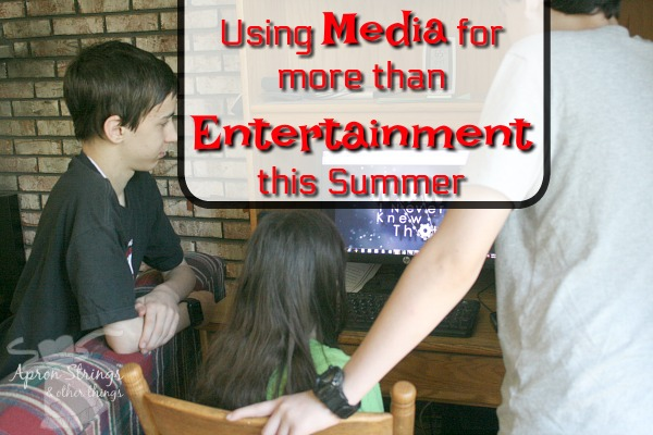 Using Media for More than Entertainment This Summer PureFlix at ApronStringsOtherThings.com