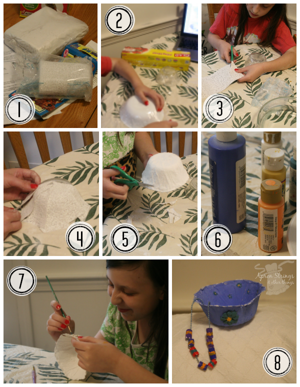 Activa Rigid Wrap step by step photos kid craft at ApronStringsOtherThings.com
