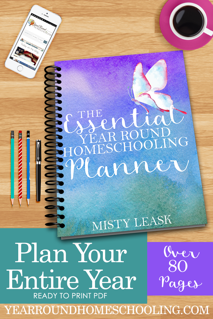 A New Planner for Your Year Round Homeschooling Needs