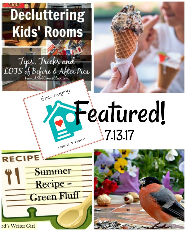 Featured at Encouraging Hearts & Home Blog Hop 7.13.17 at ApronSTringsOtherThings.com