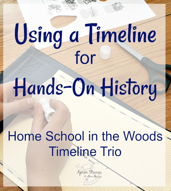 Using a Timeline for Hands-On History Home School in the Woods Timeline Trio