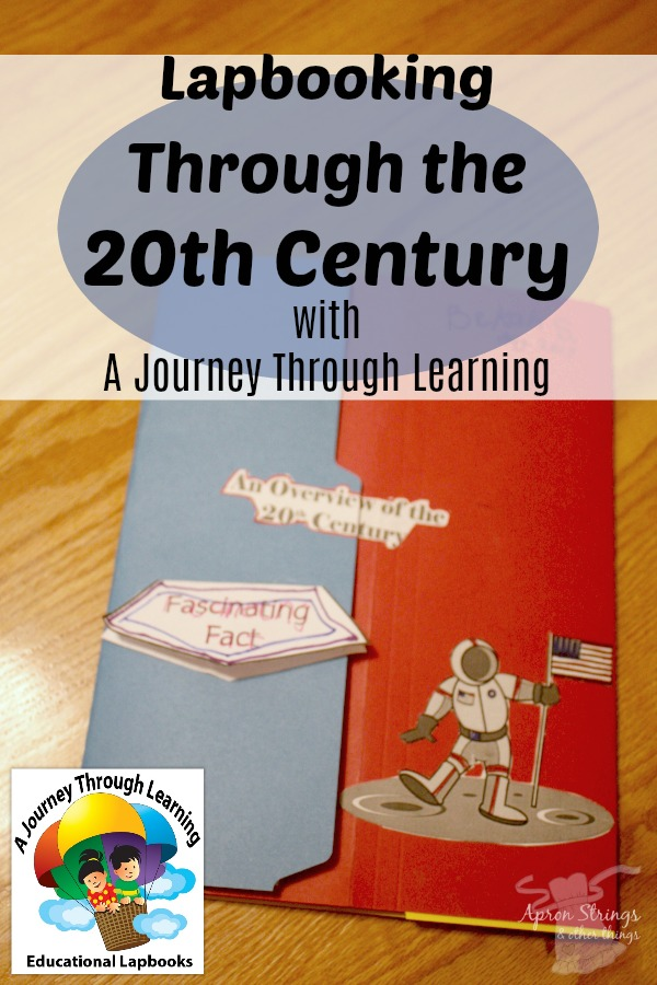An Overview of the 20th Century Lapbook A Review at ApronStringsOtherThings.com