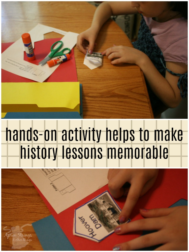 make history memorable with lapbooks from A Journey Through Learning at ApronSTringsOtherThings.com