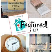 Encouraging Hearts & Home Blog Hop 9.7.17