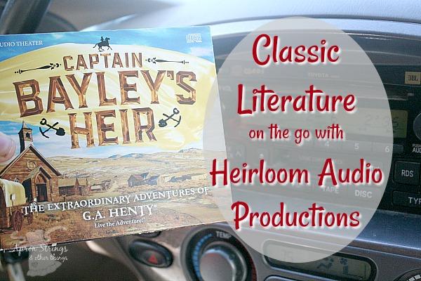 Heirloom Audio Productions Captain Bayley's Heir {a review} Captain Bayley's Heir at ApronStringsOtherThings.com
