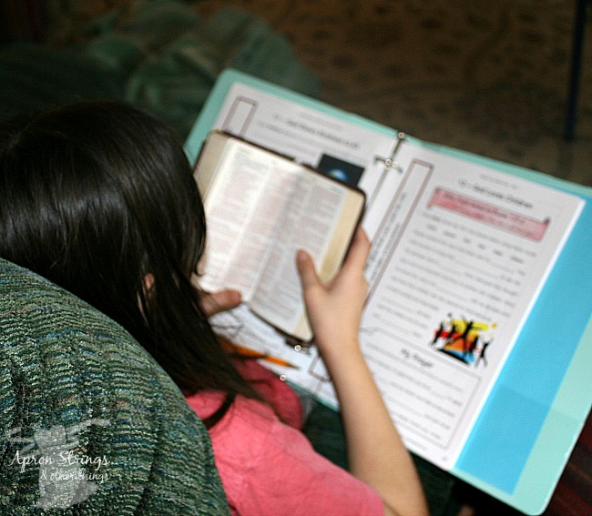 Bible Study for grades 4 to 6 Kid Niche at ApronSTringsOtherThings.com