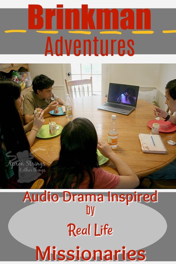 Brinkman Audio Drama Season 4 Real Life Mission Stories at ApronStringsOtherThings.com