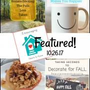 Encouraging Hearts & Home Blog Hop 10.26.17