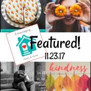 Encouraging Hearts & Home Blog Hop 11.23.17