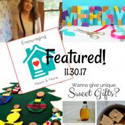 Encouraging Hearts & Home Blog Hop 11.30.17