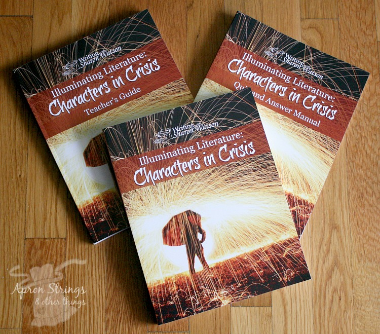 Illuminating Literature Characters in Crisis Book Set at ApronSTringsOtherThings.com