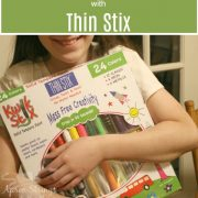 Mess Free Creativity with Thin Stix {A Review & Giveaway}