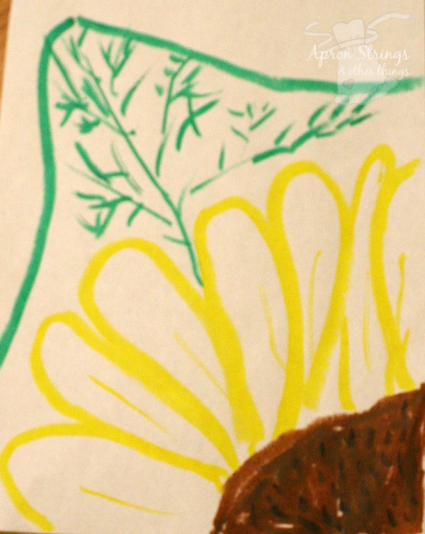 Sunflower Tempera Paint Thin Stix at ApronStringsOtherThings.com