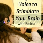 Use Your Own Voice to Stimulate Your Brain with Forbrain {A Review}