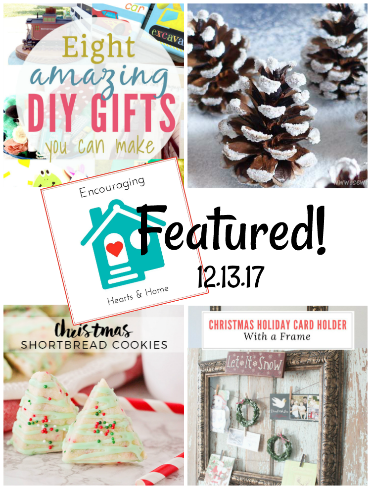 Encouraging Hearts & Home Blog Hop 12.14.17