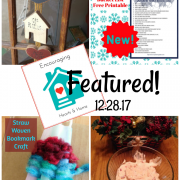 Encouraging Hearts & Home Blog Hop 12.28.17