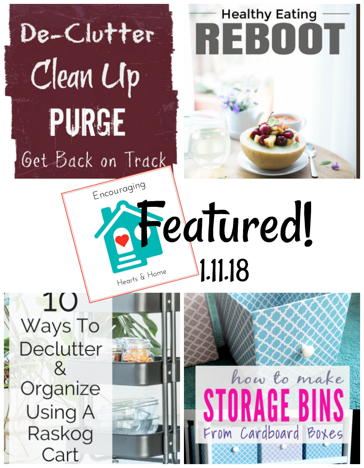 Encouraging Hearts & Home Blog Hop Featured at ApronStringsOtherThings.com 1.11.18