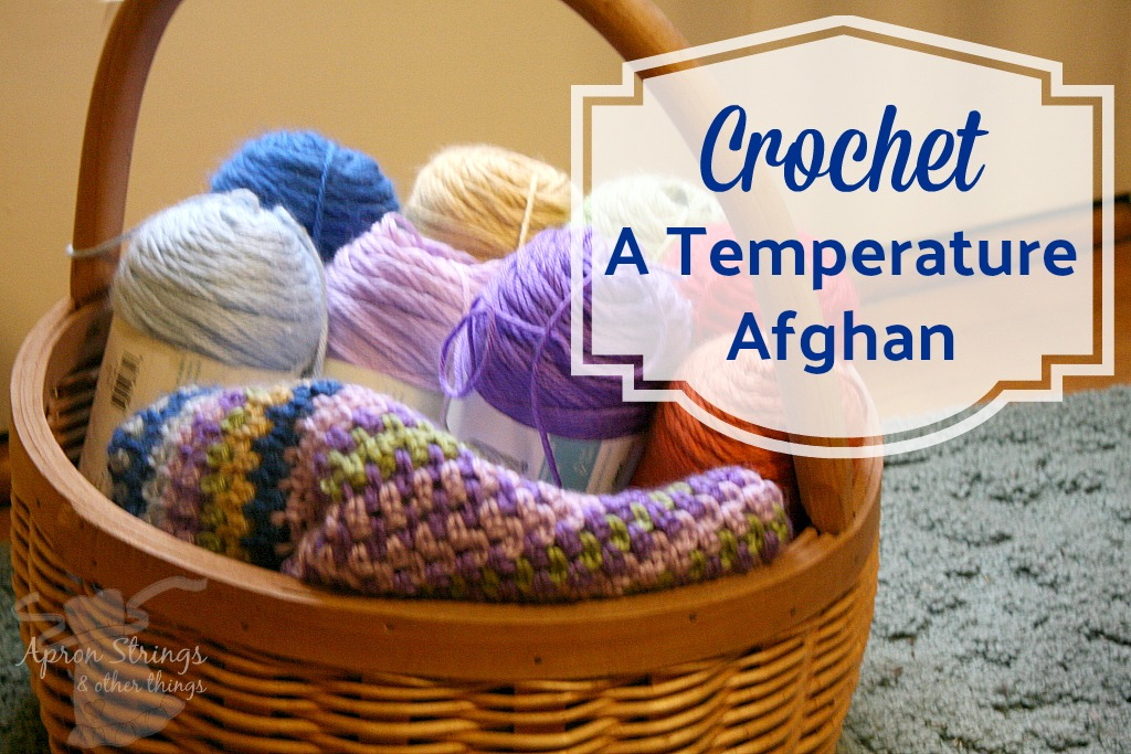Crochet or Knit a Temperature Afghan at ApronStringsOtherThings.com