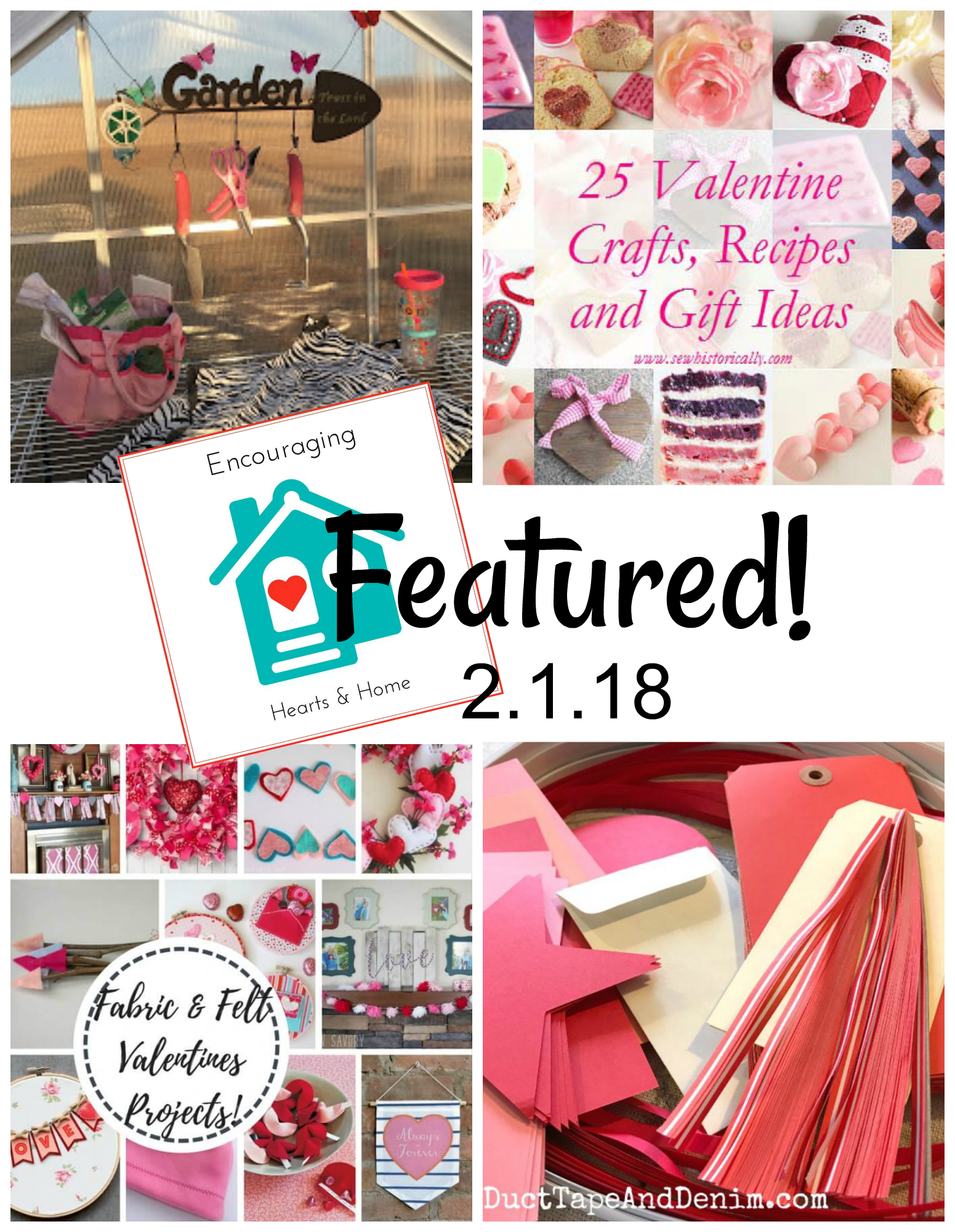 Encouraging Hearts & Home Blog Hop 2.1.18 Featured at ApronStringsOtherThings.com