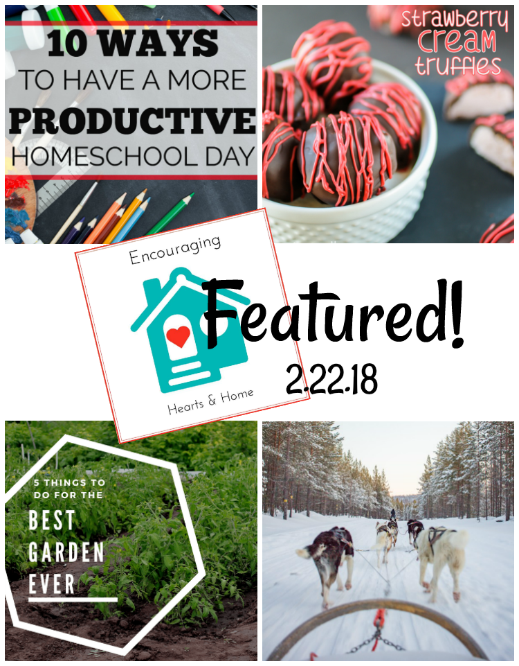 Encouraging Hearts & Home Blog Hop 2.22.18 Featured at ApronStringsOtherThings.com