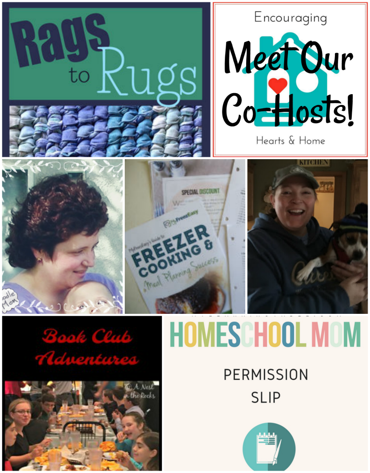 Encouraging Hearts & Home Blog Hop Co-Hosts featured 2.8.18 at ApronStringsOtherThings.com