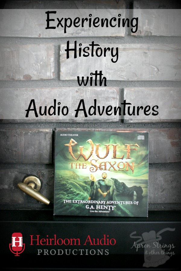 Experiencing History with Audio Adventures Wulf the Saxon Review at ApronStringsOtherThings.com