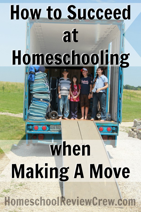 How to Succeed at Homeschooling when Making a Move at HomeschoolReviewCrew.com