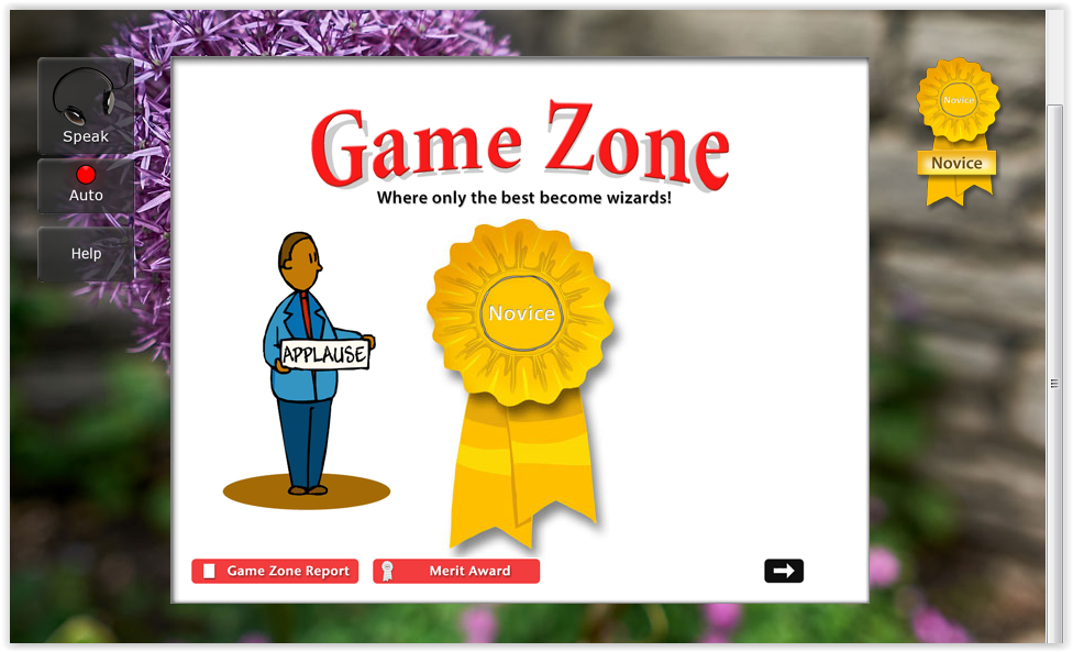 Game Zone UltraKey Online typing at ApronStringsOtherThings.com