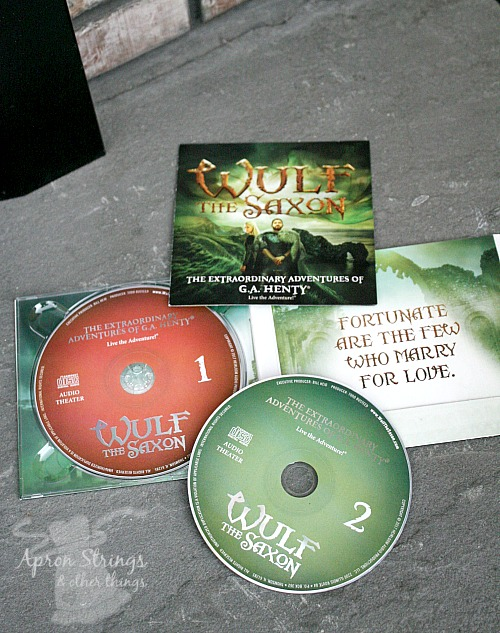 Wulf the Saxon 2 cd set Heirloom Audio Productions at ApronSTringsOtherthings.com