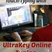 Your Child Can Learn Touch-Typing using  UltraKey Online Typing {A Review}