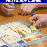 Battling for Liberty with File Folder Games from Home School in the Woods