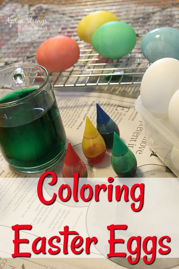 Coloring easter eggs apron strings other things homemade easter egg coloring dye recipe at apronstringsotherthings1 forumfinder Images