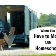 When You Have to Move AND Homeschool