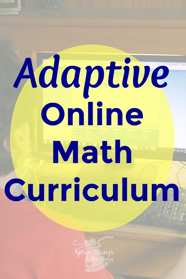 Adaptive Online Math Curriculum A+Tutor Interactive Math at ApronStringsOtherThings.com
