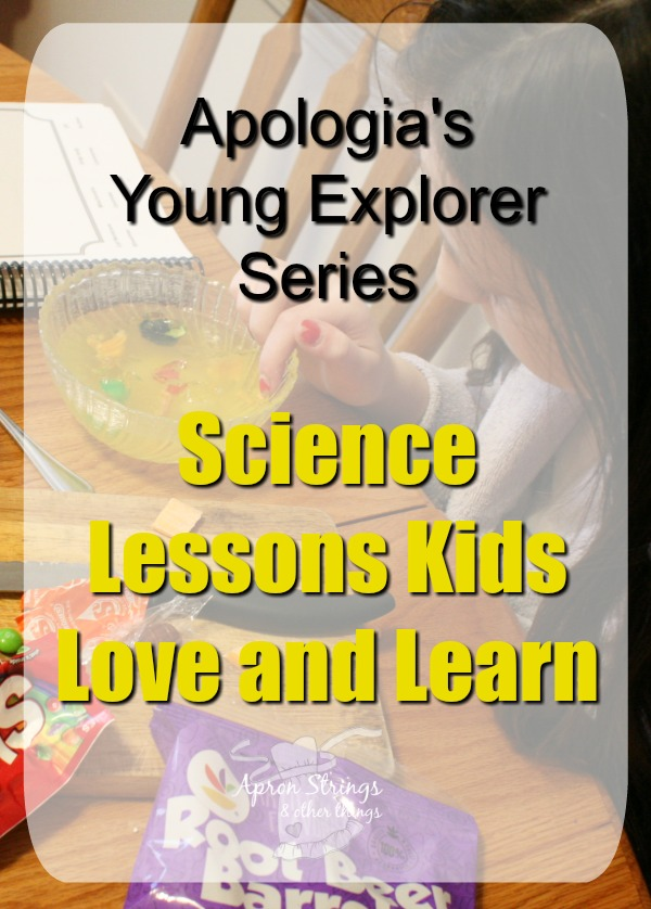 Apologia's Young Explorer Series Science Lessons Kids Love and Learn Exploring Creating Human Anatomy Physiology at ApronSTringsOtherThings.com