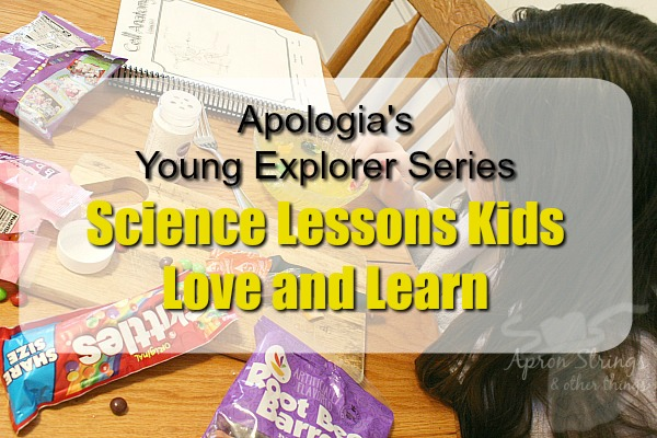Apologia's Young Explorer Series Science Lessons Kids Love and Learn at ApronStringsOtherThings.com